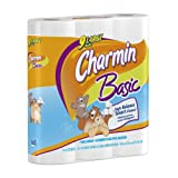 Charmin Basic 9 Large Rolls, 253 1-Ply Sheets per Roll (Pack of 4) ~ Charmin