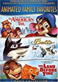 Animated Family Favourites 3-Movie Collection (An American Tail / Balto / The Land Before Time) (Bilingual)