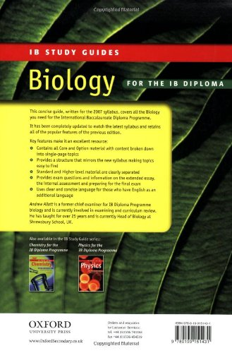 pearson baccalaureate higher level biology pdf