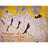 Troupe de Mlle Eglantine, by Henri de Toulouse-Lautrec (Print On Demand)