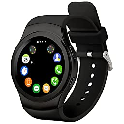 PowerLead Pwah PL-G3 All Round Screen Touch-screen Smart Bluebooth Watches with Heart Rate and Step Down Function Smart Phone