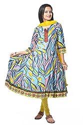 Vastra Vinod Women Anarkali Suit Dress Material (vtas13-xl_blue)