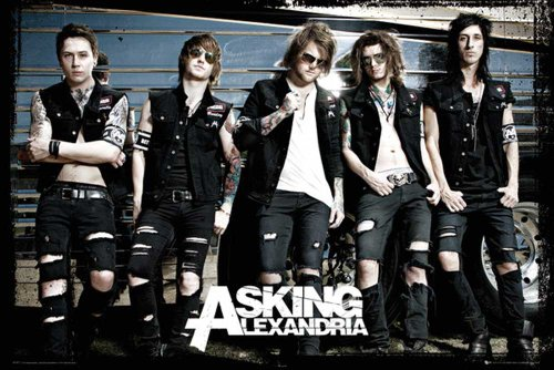 "Empire Interactive - Poster ""Asking Alexandria, Bus""+ articoli accessori multicolore"