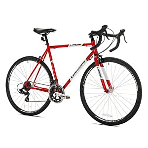 Giordano Libero Acciao Road Bike, Medium/56cm, Red