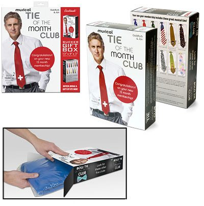Musical Tie of the Month Gift Box