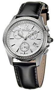 Golana Aura Pro Swiss made Ladies Diamond Set Chronograph Watch Damenuhr AU200.4
