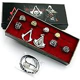 Sincerity Forever 7 Anneau & 2 Neckalce définit série Assassin's Creed collection 9 set / boîte