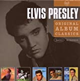 echange, troc Elvis Presley - Original Album Classics : Elvis / Elvis Presley / Loving You / Elvis Is Back / GI Blues (Coffret 5 CD)