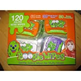 Boogie Wipes 120 Gentle Saline Kids & Baby Wipes 4 Packs