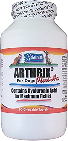 buy Kala Health - Arthrix Plus With Hyaluronic Acid (90 Chewable Tablets). All Us-Made Ingredients: Msm, Vegetarian Glucosamine, Chondroitin, Hyaluronic Acid, Cetyl Myristoleate, Vitamin C As Ester C And Trace Minerals). Powerful Joint Support Supplement Guar