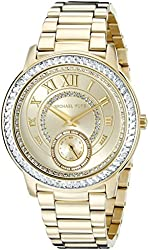 Michael Kors Women's Madelyn Gold-Tone Watch MK6287