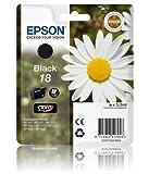 Epson Expression Home XP305 Black Genuine Epson Printer Ink Cartridge - Epson 18 Daisy Series