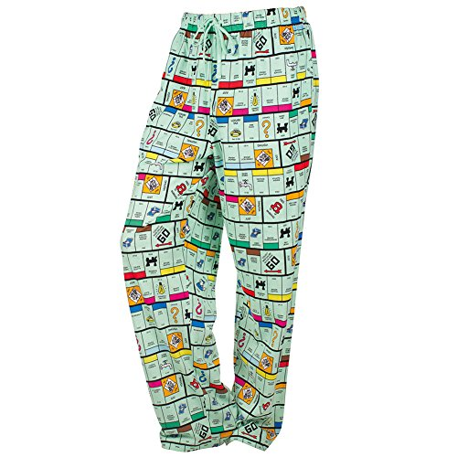 Monopoly Printed Cotton Pajama Pants