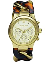 Michael Kors Chronograph Runway Twist Gold