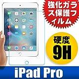 F.G.S 国産ガラス素材 iPad pro フィルム 強化ガラスフィルム 気泡が消える 硬度9H 厚さ0.33mm iPad pro ガラスフィルム [並行輸入品] -