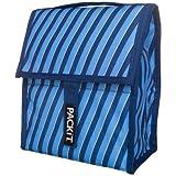 PackIt Freezable Lunch Bag, Indigo Stripe