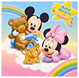 FUJICOLOR photo mount Disney Baby Mickey & Minnie Baby Blue 2L character 19527 (japan import)