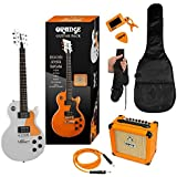 orange guitar pack orange guitar includes amp cable tuner gig bag strap and plectrums. Black Bedroom Furniture Sets. Home Design Ideas