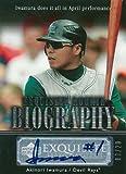 【岩村明憲】 2007 Upper Deck Exquisite Rookie Signatures Biography 20枚限定!(03/20)