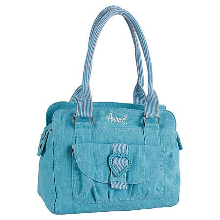 Animal Perfume Ladies Handbag - Turquoise