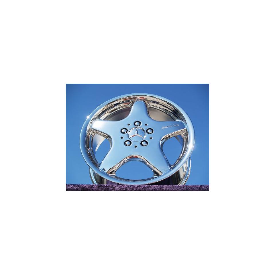 Mercedes Benz CLK/SLK class AMG Sport Set of 4 genuine factory 17inch chrome wheels