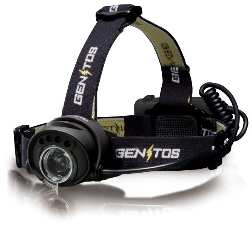 GENTOS(ジェントス) デルタピーク233 【明るさ160ルーメン/実用点灯18時間】 DPX-233H