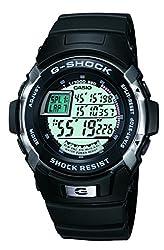 Casio G-Shock Digital Black Dial Mens Watch - G-7700-1DR (G222)