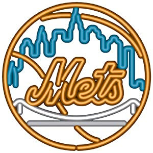 MLB New York Mets Neon Sign