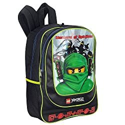 LEGO 16 inch Ninjago Backpack - Black