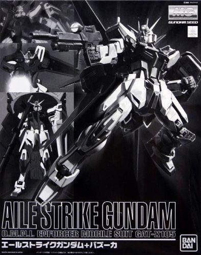Gundam Seed AILE STRIKE GUNDAM w/ Bazooka 1/100 MG (Limited Edition) Model Kit