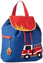 Stephen Joseph Quilted Backpack, Fire Truck