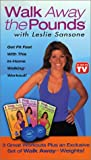 Leslie Sansone - Walk Away the Pounds 3 Pack (includes weight set) [VHS]