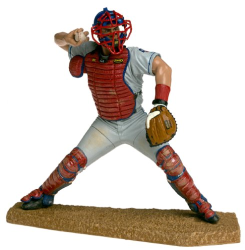 McFarlane Toys MLB Sports Picks Series 1 Action Figure Ivan Rodriguez (Texas Rangers) Gray Jersey at Amazon.com