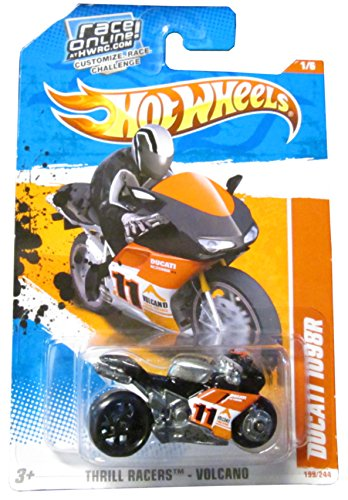 Hot Wheels DUCATI 1098R Thrill Racers Volcano, Black