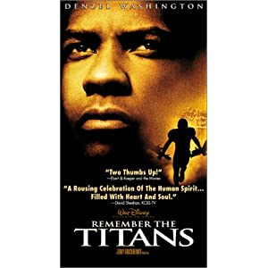 Amazon.com: Remember the Titans [VHS]: Denzel Washington, Will ...
