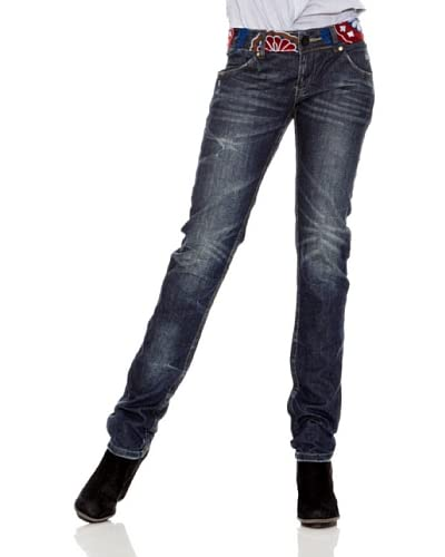 Desigual Jeans Marca [Blu Scuro]