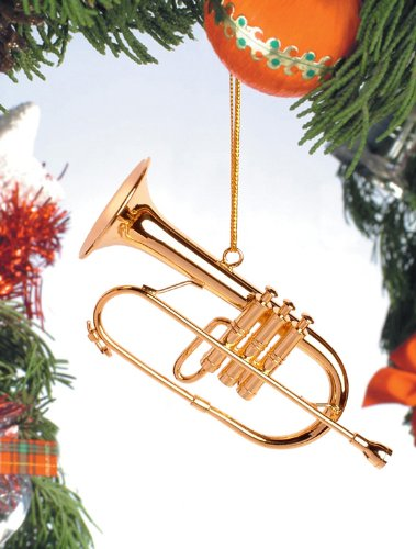 Flugelhorn Tree Ornament