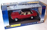 corgi vanguards ford cortina MK4 2.0 ghia jupiter red car 1.43 scale diecast model
