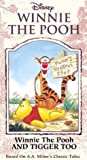 Winnie the Pooh and Tigger Too [VHS]
