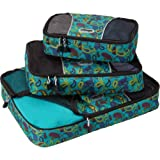 eBags Packing Cubes - 3pc Set (Posh Paisley)