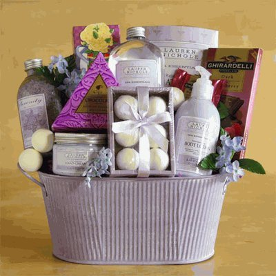 Chocolate Gifts Lavender Luxury Spa Experience Mothers Day Gift Idea Valentines For Her Birthday Anniversary