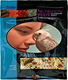 F.M. Brown's Nutrition Plus Supreme Cockatiel, Lovebird and Conure Food , Safflower Rich – Sunflower Free, 3-Pound