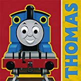 Thomas The Tank Engine Beverage Napkins, 16-Count Packages (Pack of 6)
