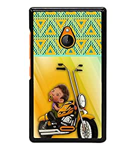 ifasho Designer Phone Back Case Cover Nokia X2 ( Colorful Chair Colorful Pattern Design )
