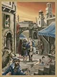 Bethlehem Village German Advent Calendar
