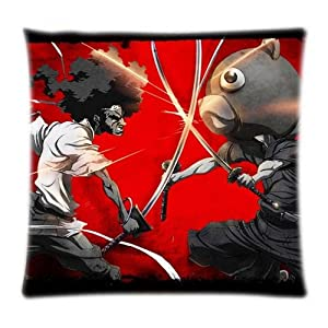 UK-Jewelry Cool Afro Samurai Kuma Wallpaper Images Cartoon Cool Cases Zipper Two Size Cases Pillowcases 18x18 Inch from UK-Jewelry
