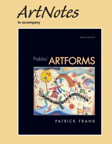 ArtNotes for Artforms for Prebles' Artforms (with MyArtKit Student Access Code Card)