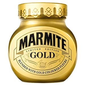 Marmite Gold 250g Highly Limited Edition for Christmas 2012 Import from Great Britain