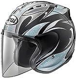 アライ(ARAI) バイクヘルメット ジェット SZ-Ram4 KAREN ブラック ブルー M 57-58