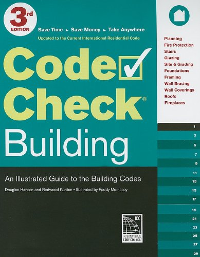 Code Check Building 3rd Edition: An Illustrated Guide to the Building Codes - Taunton Press - RC-T071324 - ISBN: 1600853293 - ISBN-13: 9781600853296